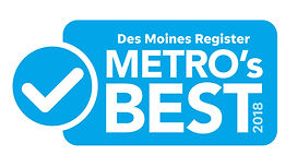 Des Moines Register Metro's Best 2018 logo
