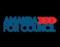Amanda For Council logo