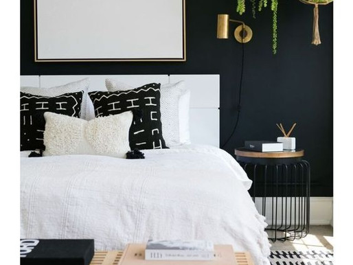 Make a Bold Statement with Black Walls