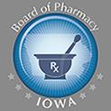Iowa Board of Pharmacy logo