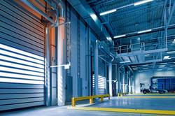Warehouses with concrete floors