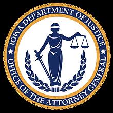ICCC Sponser Iowa Attorney General Seal