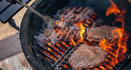 Kamado Joe Small Cook Steak.jpg