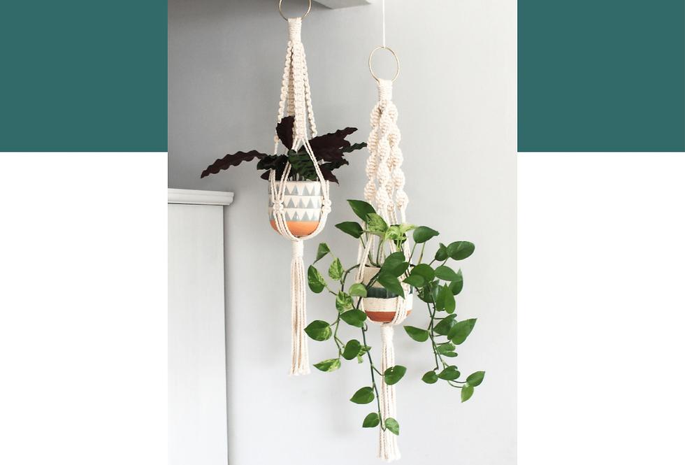 DIY Macrame Plant Hanger Guide (English)