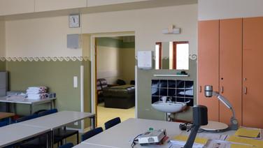 24 novembre 2017, Halikko, Finlande.   Vue intérieure d'une salle de cours.