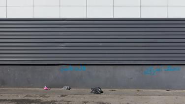 22 septembre 2015, Calais, ville de la pointe Nord de la France, face à l'Angleterre.  Près du port de pêche.