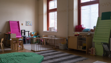 24 novembre 2017, Halikko, Finlande.   Un espace dédié aux tout petits.