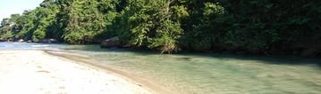 Dois Rios - River delta