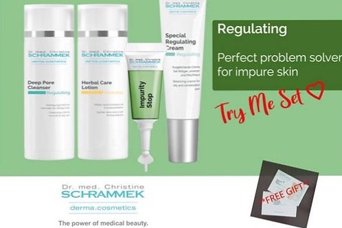 Dr. med. Christine SCHRAMMEK  deep core impure skin set
