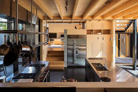 Open Modern Kitchen Remodel