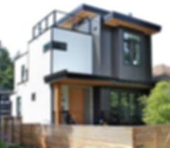 Modern Prefab Green Home