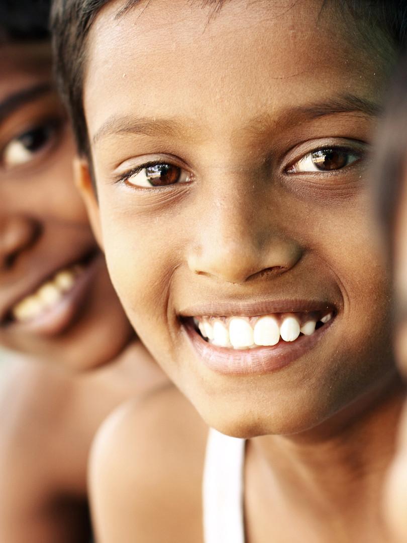 Teen Boys Smiling