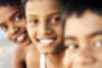 Meninos adolescentes Sorrindo