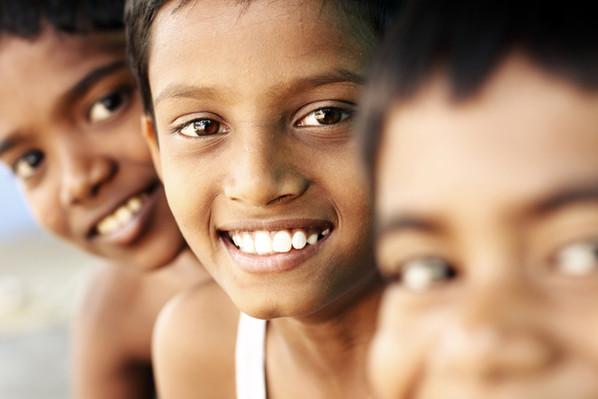 Teen Jungen Lächeln
