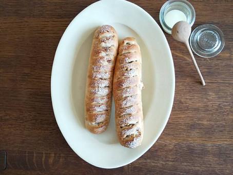 4月17日(土)napepan ホシノ酵母で、ライ麦入りナッツのパン