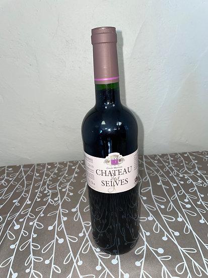 Vin rouge Château des Selves