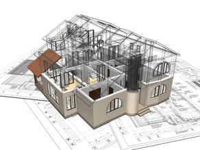 Processo em etapas de Construção de uma casa nos empreendimentos da Momentum