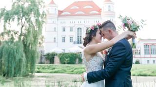 Marta i Łukasz - ślub (pałac Wojanów)