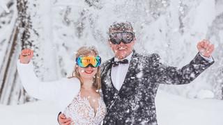 Paulina i Aleksander - sesja zimowa (Szczyrk Salmopol)
