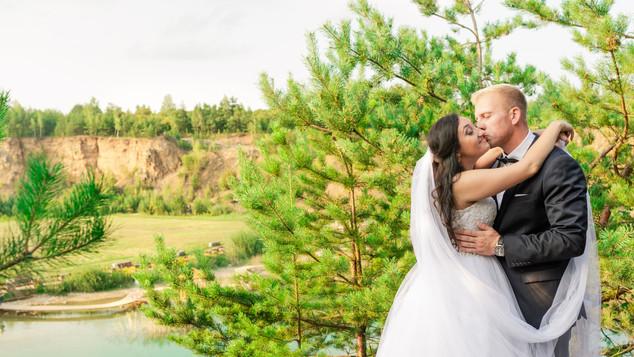 Karolina i Wojtek - sesja ślubna ( Jaworzno- Gródek)