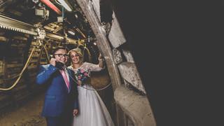 Natalia i Seweryn- sesja ślubna ( kopalnia Guido Zabrze)