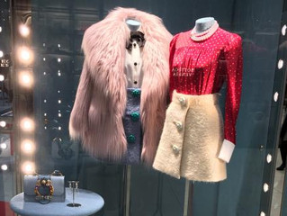 エコファーコートのぼんやりピンクが可愛い♥♥♥