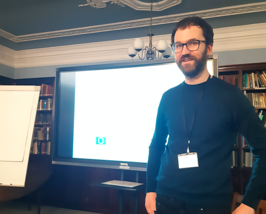 Jakub's talk at Cumberland Lodge