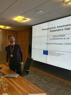 Jakub's talk at the University of Hertfordshire Philosophy Research Seminar