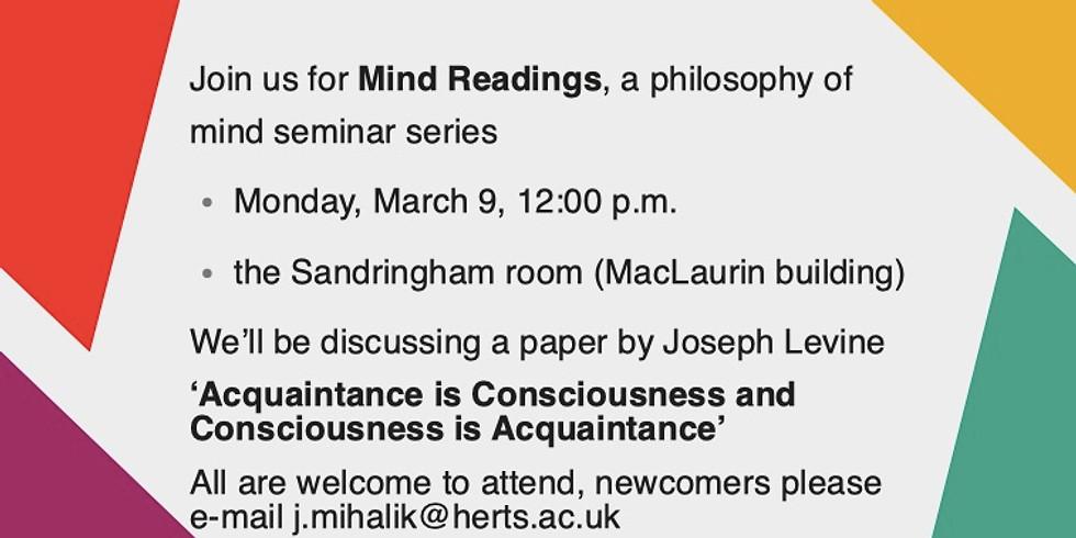 Mind Readings VI.