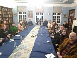Jakub's talk at Cumberland Lodge - audience