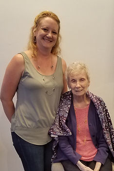 April Freier and Marie Mongan