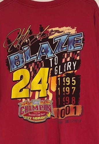 13f166b7 01 Jeff Gordon nascar shirt. Size xl