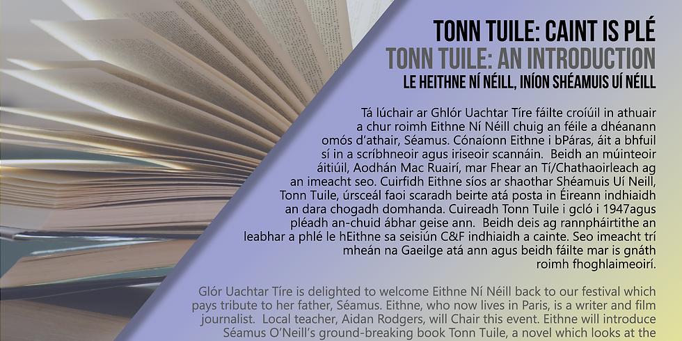 Tonn Tuile: An nasc leis an saol idirnáisiúnta/ Tonn Tuile: The International links