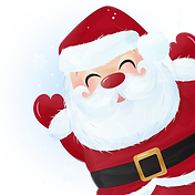 —Pngtree—cute santa claus for christmas_