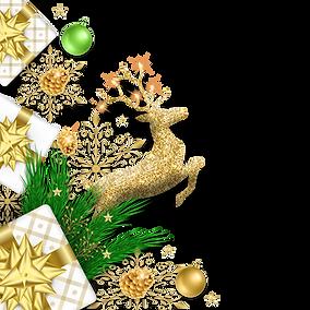 —Pngtree—christmas corner decoration wit