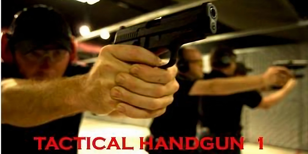 Tactical Handgun 1 Class- PLEASE CALL TO PRE-PAY AND RESERVE SPOT (4)