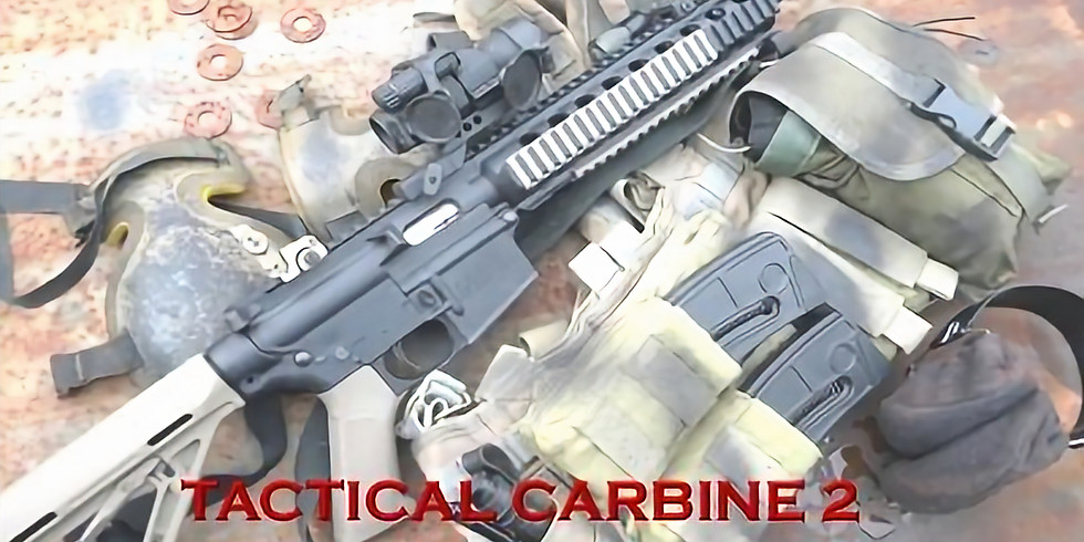 Tactical Carbine 2 Class- PLEASE CALL TO PRE-PAY AND RESERVE SPOT (2)