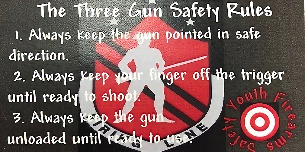 Youth Safety Class (1) - PLEASE CALL TO PRE-PAY AND RESERVE SPOT (6)