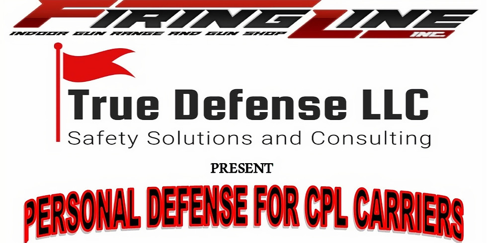 Personal Defense for CPL Carriers