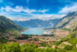 Kotor in a beautiful summer day, Montene
