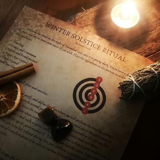 Winter Solstice Ritual Kit