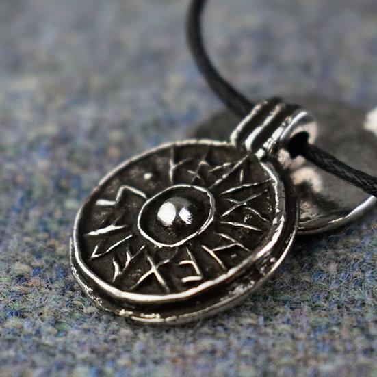 Good Luck Shield Pendant
