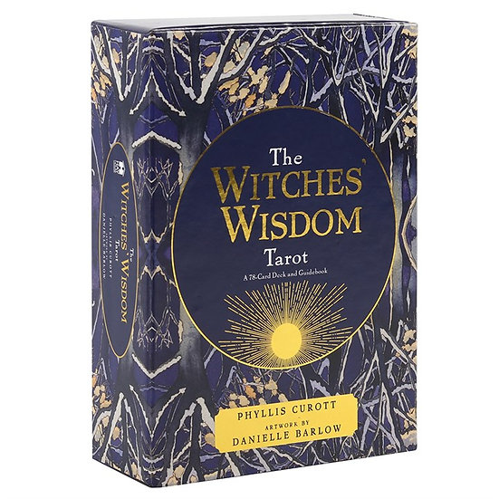 The Witches Wisdom Tarot - Beguinners Guide Book & Cards Set