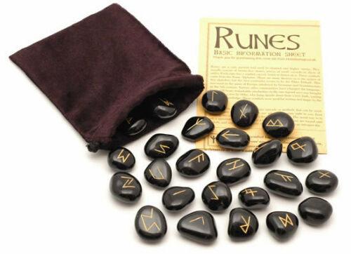 Black Jasper Rune Stones