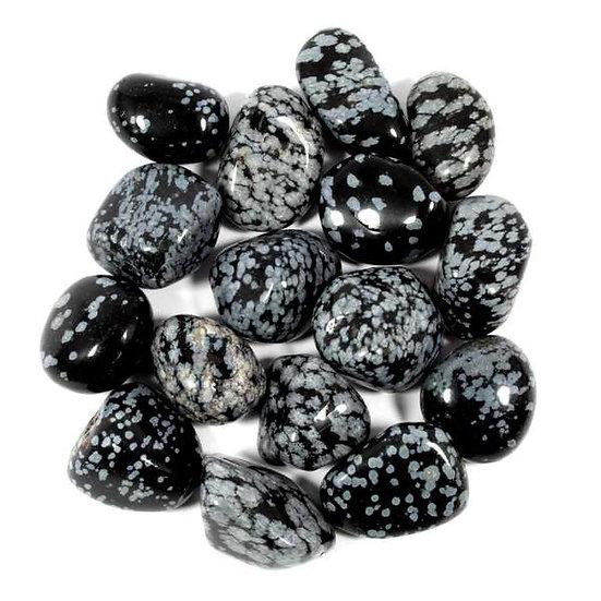 Snowflake Obsidiane Tumblestone