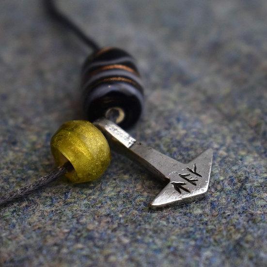 Repton Hammer Pendant Pewter