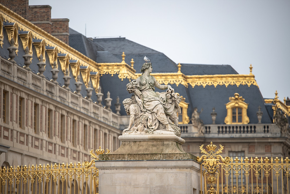 Castle statue