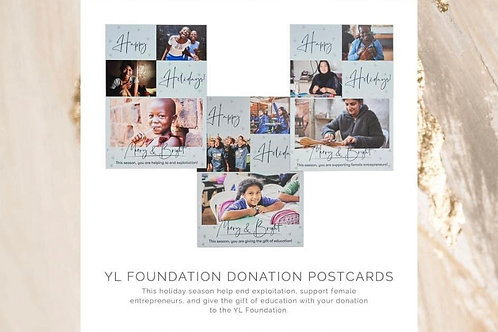 The Young Living Foundation:  Holiday Postcards