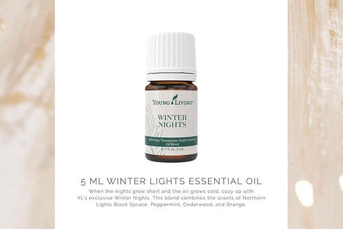 Winter Nights Essential Oil Blend