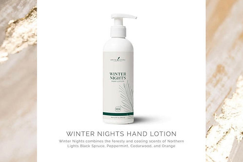 Hand Lotion: Winter Nights